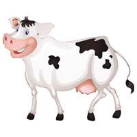Barnyard Birthday theme Cow poster