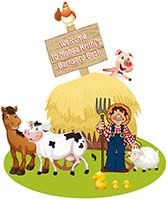 Welcome banner - Barnyard Birthday