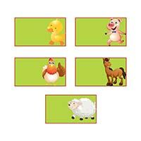 Food labels - Barnyard Birthday