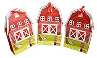 Gift Bags - Fully designed - Barnyard Themed 1st Birthday party decoration | Farm birthday
