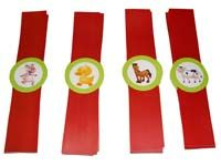Wristbands - Barnyard Birthday