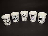 Black & White theme Cups - Theme based