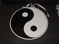Black & White theme Ying N Yang ceiling hanging