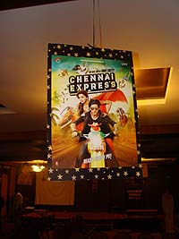 Retro Birthday theme Chennai Express poster