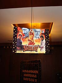 Retro Birthday theme Sholay poster