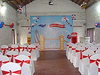 British theme Backdrop