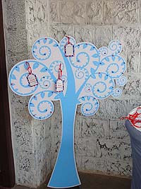 British theme Wish Tree