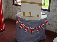 British theme Happy Birthday Banners