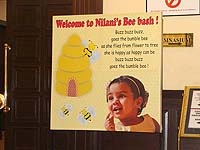 Bumble Bee theme Welcome banner