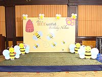 Bumble Bee birthday theme Stage Decor