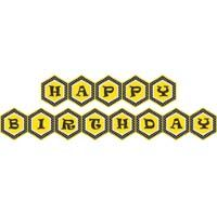 Bumble Bee theme Happy Birthday Banners