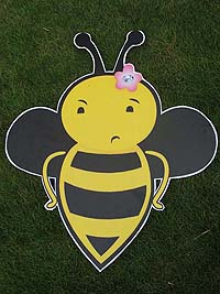 Bumble Bee theme Confused bee poster