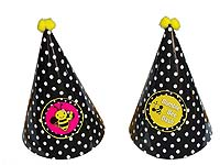 Bumble Bee theme Black patterned bumblebee hats
