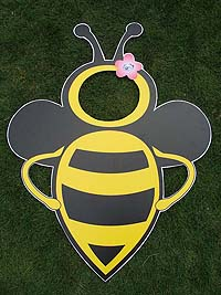 Photo Booth - Bumble Bee theme birthday party supplies
