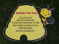 Bumble Bee theme Bumblebee poem poster