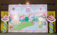 Candy Land theme Backdrop