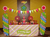 Candy Land theme Table covers