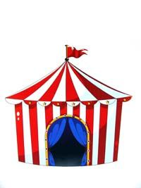 Circus theme Carnival tent poster