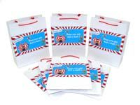 Stickered gift bags - Circus Theme Birthday Party Supplies
