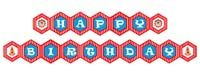 Happy Birthday Banners - Circus Theme Birthday Party Supplies