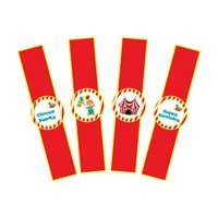 Circus Birthday theme Wristbands