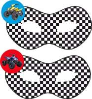 Dirt Bike theme Masks