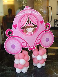 Fairy Princess Birthday theme Princess charriot