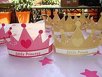 Fairy Princess Birthday theme Hats