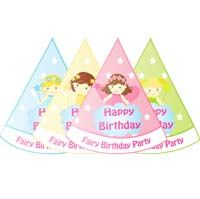 Fairy Princess Birthday theme Colorful fairy hats