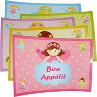 Fairy Princess Birthday theme Placemats