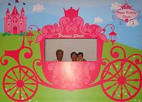 Fairy Princess Birthday theme Photo Booth