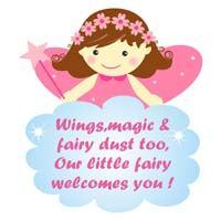 Fairy Princess Birthday theme Posters / Cutouts