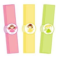 Fairy Princess theme Wristbands