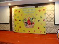 Fruits theme birthday Backdrop