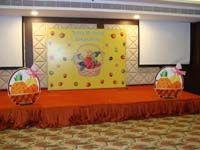 Stage Decor - Fruit basket theme birthday supplies
