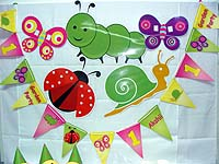 Garden Party theme Garden insects