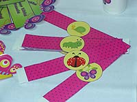Garden wrist bands - Garden Party