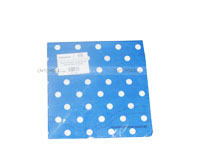 Tissue Paper - Dark Blue Polka  (Pack of 20)