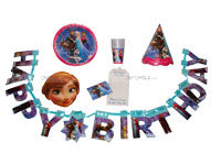 Party kits - Frozen theme birthday party