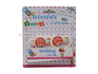 Round hello kitty candle - Party Supplies