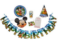 Mickey Minnie theme Mickey Birthday party pack