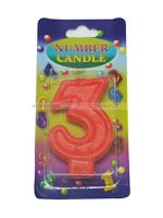 Number Candle - 3