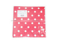 Christmas theme Tissue Paper - Red Polka  (Pack of 20)