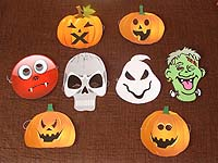 Masks - Halloween Theme Party supplies