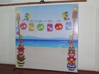 Photo Booth - Hawaiian theme birthday party
