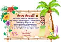 Invitations - Hawaiian