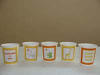 Jungle Safari theme Cups - Theme based