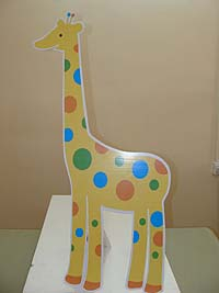 Jungle Safari theme Giraffe