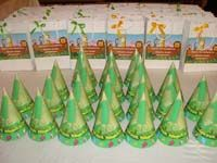 Jungle theme  - No 1 Jungle Birthday hats