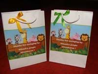 Stickered gift bags - Jungle Themes Birthday Party Decoration & Supplies